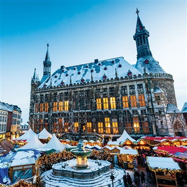 Valkenburg & Aachen Christmas Markets