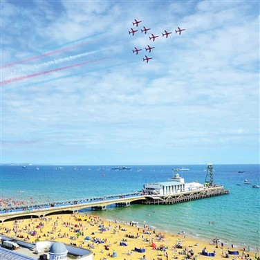 Bournemouth Annual Summer Air Festival Weekend