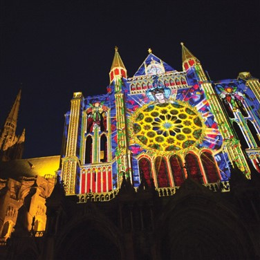 Chartres in Lights & Paris the City of Love