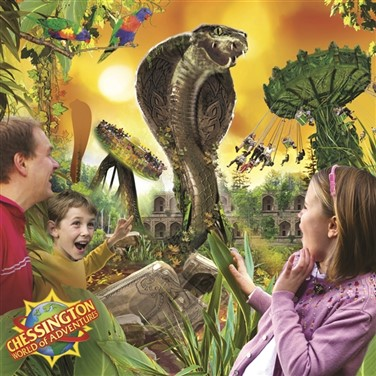 Chessington World of Adventures:Theme Park & Zoo