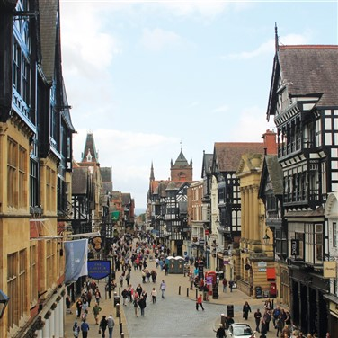 Charming Chester & the Derbyshire Peak District