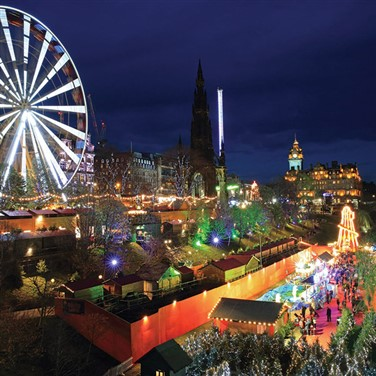Edinburgh Christmas Market ft Gretna