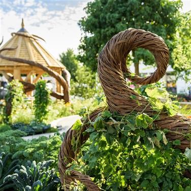 RHS Hampton Court Flower Show,  Waterperry Gardens