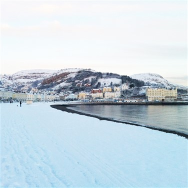 A Warm Welcome in Llandudno at Christmas