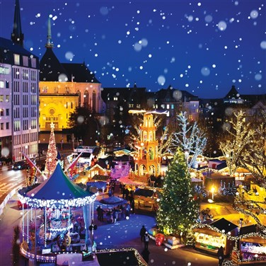 Luxembourg, Trier & Metz Christmas Markets