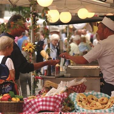 Bury St Edmunds Market Day