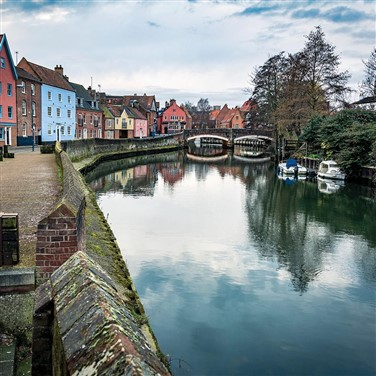 Historic Norwich & the Scenic Norfolk Broads