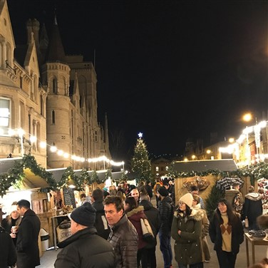 Oxford & Stratford-Upon-Avon Christmas Markets