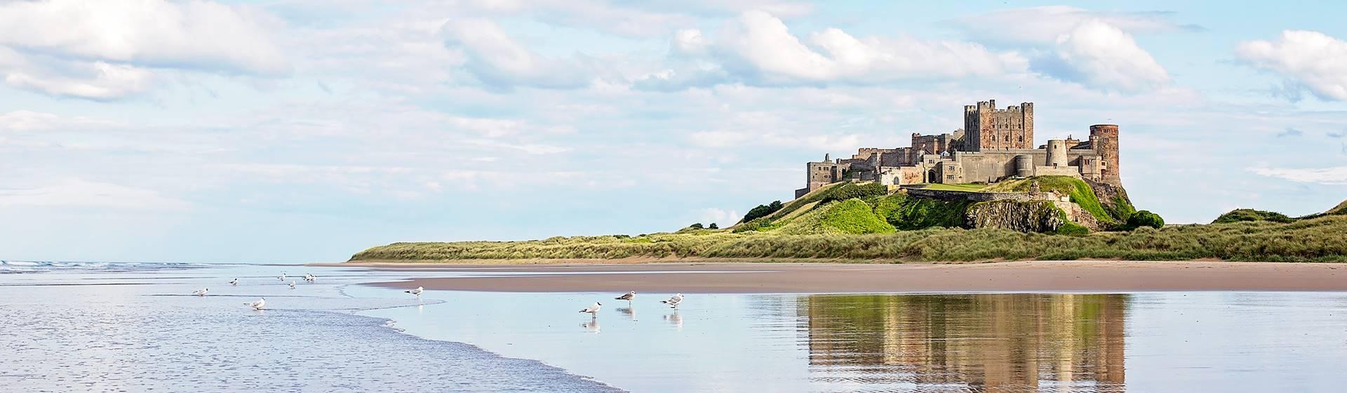 Northumberland Coast: Holy Isle, Durham & Bamburgh
