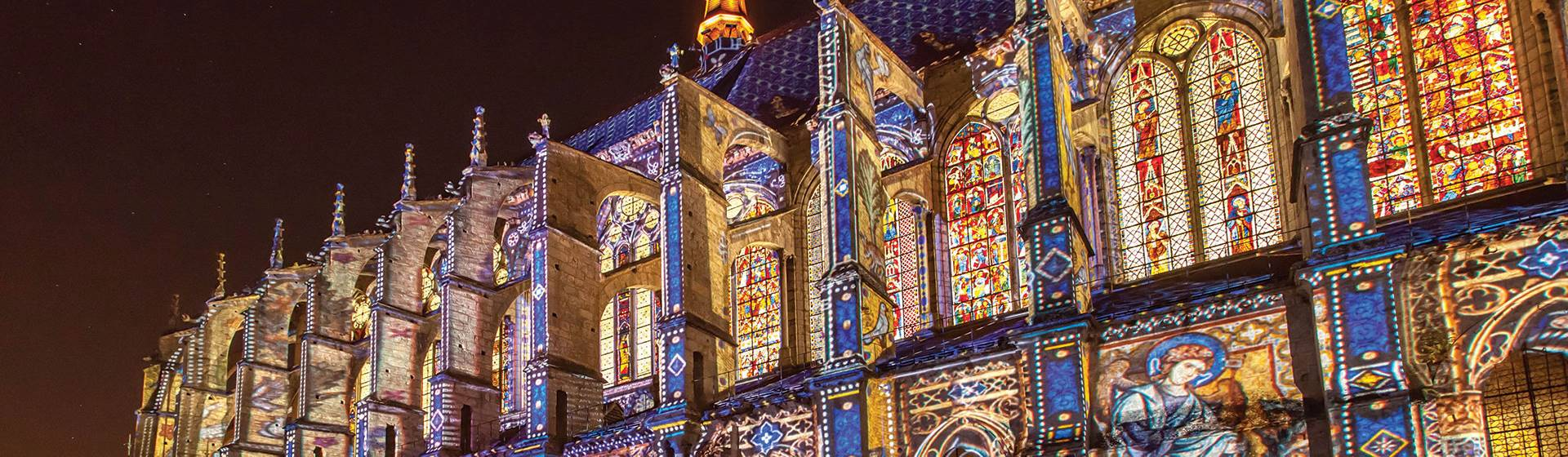 Chartres in Lights & Paris, the City of Love