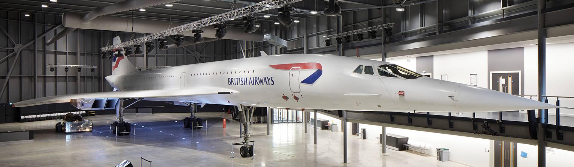 Hop on Board Concorde Aerospace Bristol Air Museum