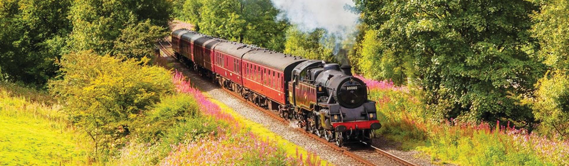 East Lancashire Steam Railway with Cream Tea