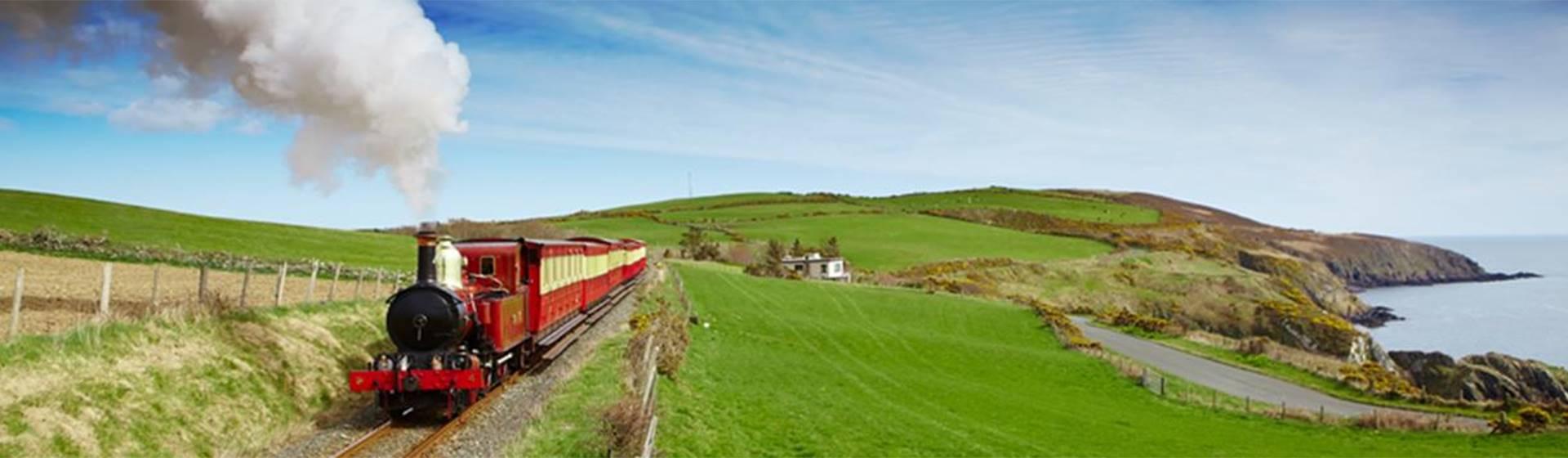 Isle of Man Steam Railway & Cregneash Folk Museum