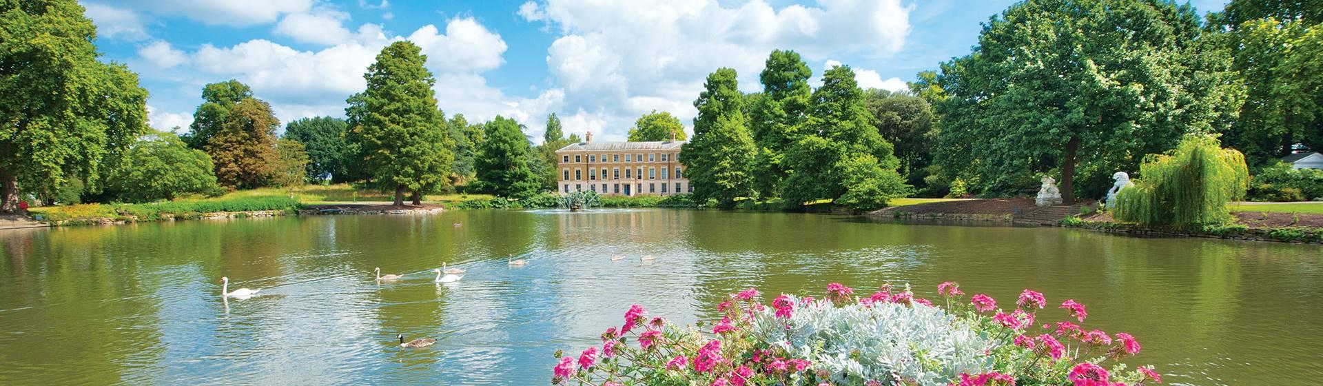 Summertime at Kew Gardens