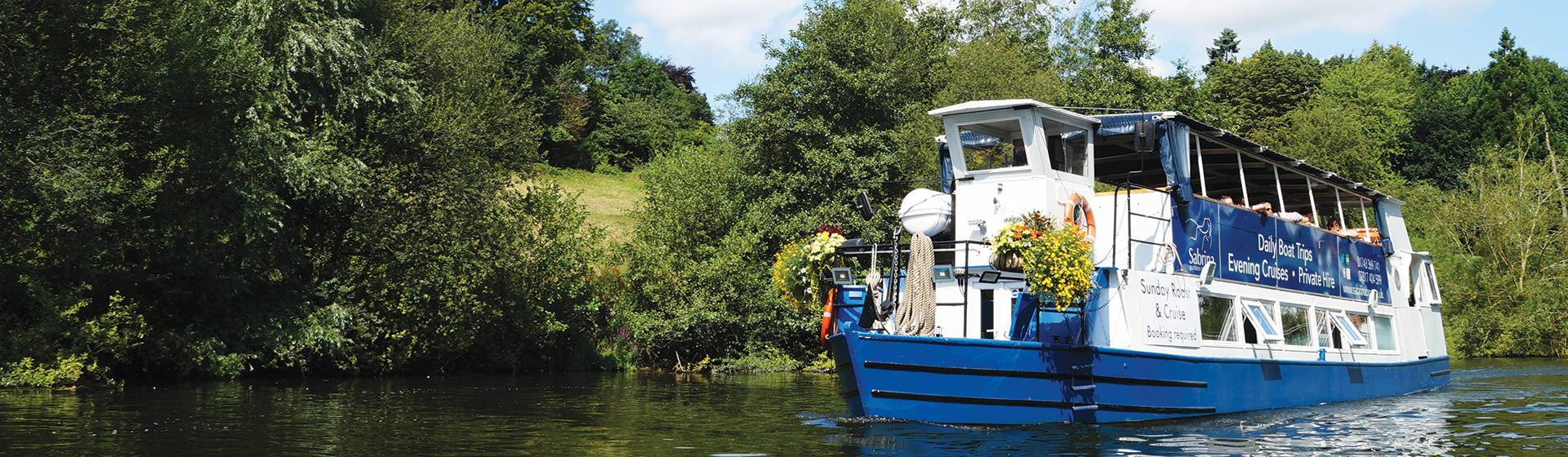 Shrewsbury & A Cruise on the River