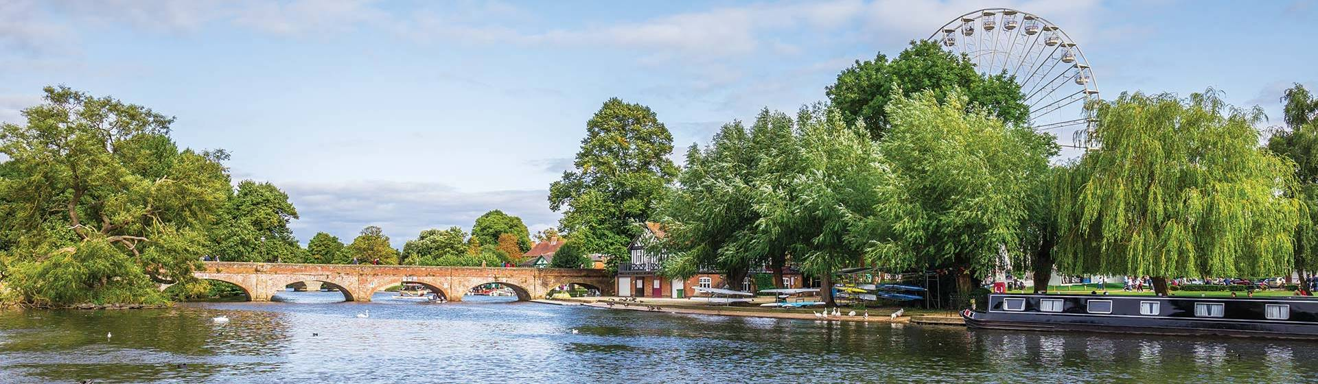 Stratford Upon Avon & Optional River Cruise