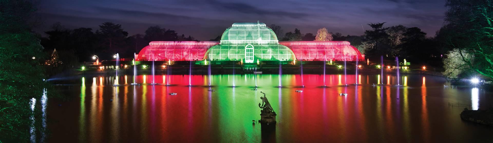 Christmas Twilight at Kew Gardens